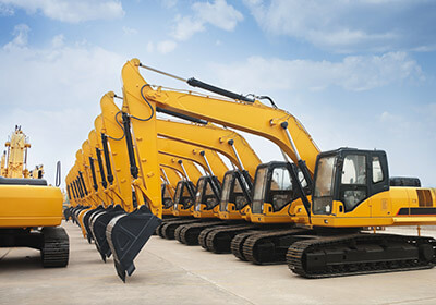 Excavators Shipping to India