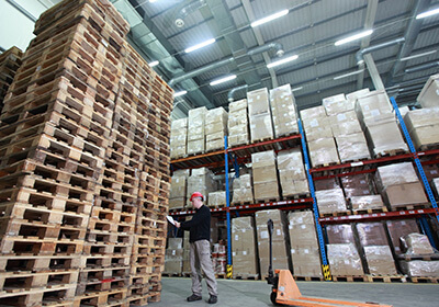 Pallet Delivery to India