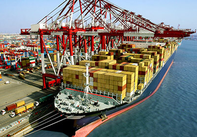 Port to Port Cargo to India