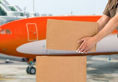 Airport to Airport Shipping to India