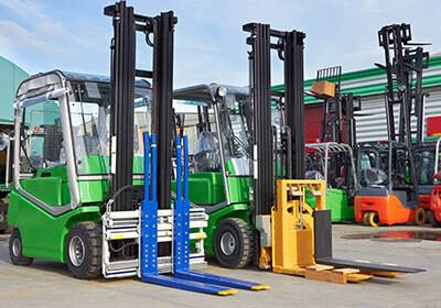 Forklifts Shipping to India