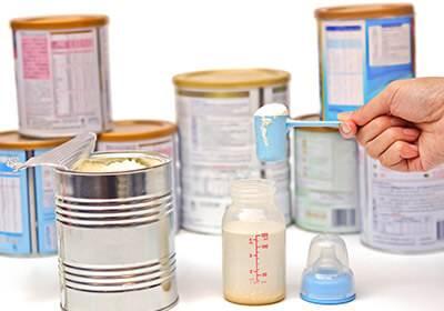 Formula Milk to India