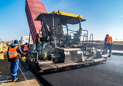 Road and Paving Machine Shipping to India
