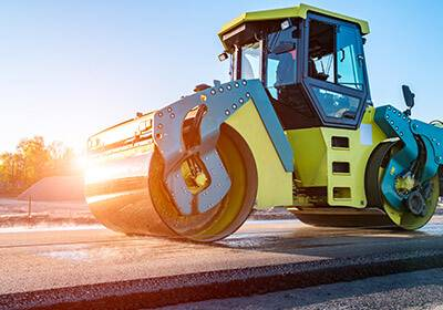 Road Construction Equipment Shipping to India