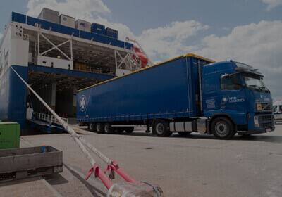 Trailers Shipping to India